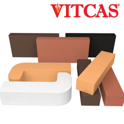 Firebrick Vitcas Coloured mix